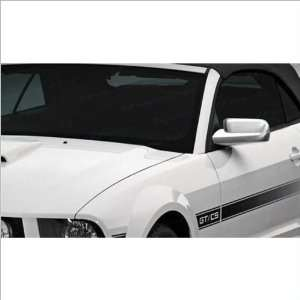 SES Trims Chrome Mirror Covers 05 09 Ford Mustang Automotive