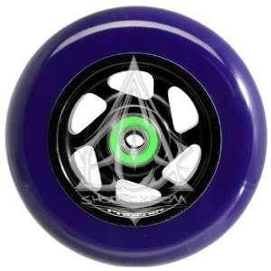 Phoenix 6 Spoke Wheel Black Purple 110mm