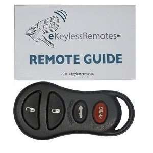 1999 2000 Dodge Intrepid Keyless Entry Remote Fob With Do It Yourself