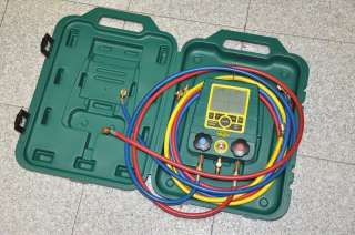 Refco DIGIMON ®   2 Way Digital Manifold Gauge & hoses
