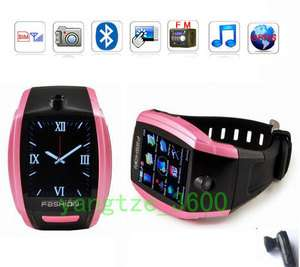 Unlocked 1.8 Touch Screen Watch Mobile Phone Quad band Cell phone