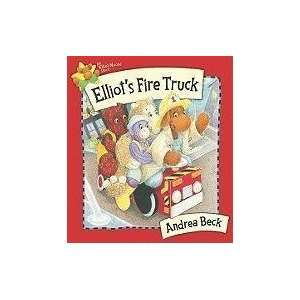Elliots Fire Truck (Elliot Moose) [Hardcover] Andrea Beck Books