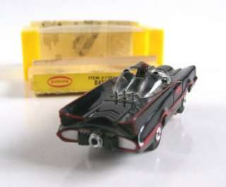AURORA SLOT CAR No.1385 BATMAN 1966 BATMOBILE, HO SCALE