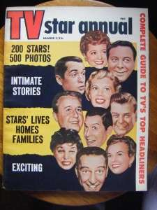 TV STAR ANNUAL~MAGAZINE~#2~1956~LUCILLE BALL~DESI ARNAZ