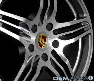 19 GUNMETAL TURBO STYLE WHEELS FITS PORSCHE 911 BOXSTER CAYMAN 986