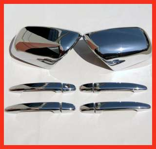 TOYOTA TACOMA SIENNA LEXUS RX330 CHROME DOOR HANDLE MIRROR COVERS