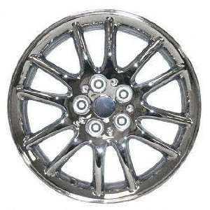 99 01 CHRYSLER LHS ALLOY WHEEL (PASSENGER SIDE)  (DRIVER RIM 17 INCH