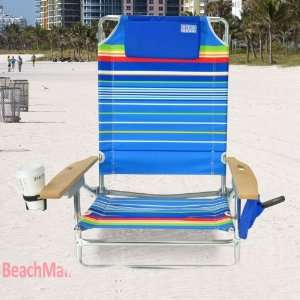 Big Kahuna Folding Beach Chair   Extra Wide & Tall Sports