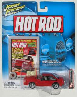 JOHNNY LIGHTNING HOT ROD MAGAZINE1987 MUSTANG GT 5.0 #6