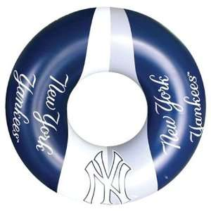 LARGE Inflatable Pool Float Swimming Ring New York Yankees