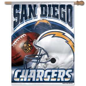 San Diego Chargers NFL Vertical Flag (27x37) Sports