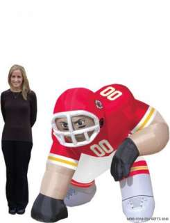 Kansas City Chiefs NFL Bubba 5 Ft Inflatable Football Player