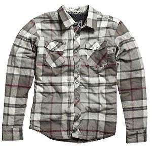 Fox Racing Time Warp Long Sleeve Flannel Shirt   Small