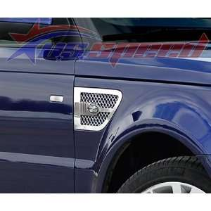 2010 UP Range Rover Sport Chrome Fender Vent Grilles 2PC