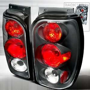 FORD EXPLORER XL XLT XLS SPORT UTILITY BLACK TAIL LIGHTS