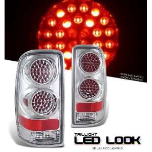 Gmc 2000 2006 Yukon Denali Suv Chrome Taillight Led Look