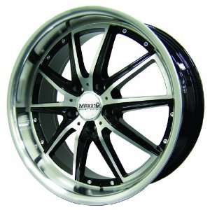 17x7 Maxxim Rodeo (Black / Machined) Wheels/Rims 5x114.3