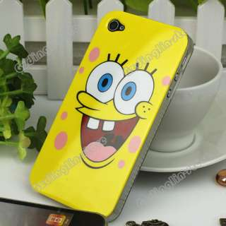 Spongebob Hard Back Case Cover Skins For Apple iPhone 4 4G 4th New