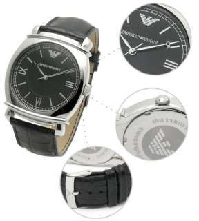 100% Authentic Brand New Emporio Armani mens stainless steel watch