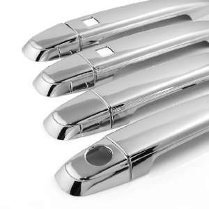 Custom Look Triple Chrome Door Handle Cover Set 3M Self Adhesive for