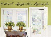 KITCHEN THE HEART OF THE HOME vinyl wall decal/words/sticker/quote