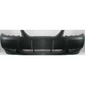 99 04 FORD MUSTANG FRONT BUMPER COVER, GT, Primed, W/Fog Lamps Holes