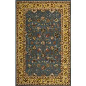 Bayonne Rug 26x46 Light Blue/gold