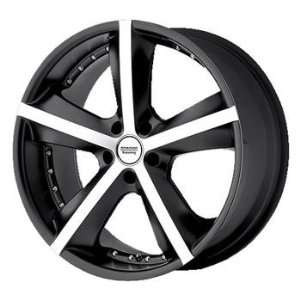 American Racing Phantom 18x8 Black Wheel / Rim 5x120 with