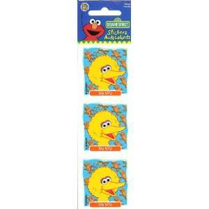 Sesame Street Big Bird Stickers Arts, Crafts & Sewing