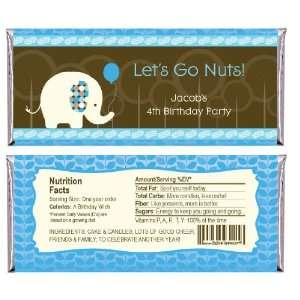 Elephant   Personalized Candy Bar Wrapper Birthday Party Favors Baby