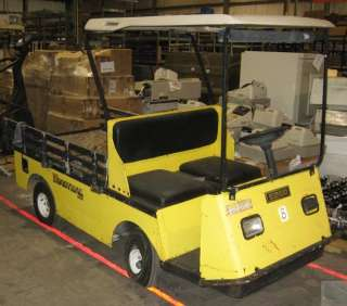 1999 EZ GO Textron Industrial 875E XI875 Electric Utility Vehicle Golf