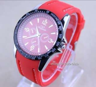 1Pcs CYD Fashion Big Dial Rubber Band Wrist Watch For Boys