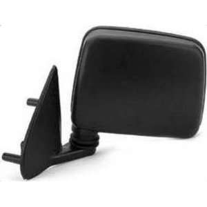 Crash Parts Ni1320106 Door Mirror, Manual, Black, Textured, Driver