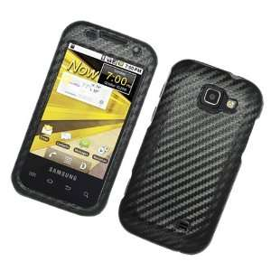 Black Carbon Fiber Fabric Hard Protector Case Cover For