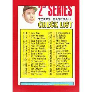 1967 Mickey Mantle Topps Trading Card & Don Larsen Perfect