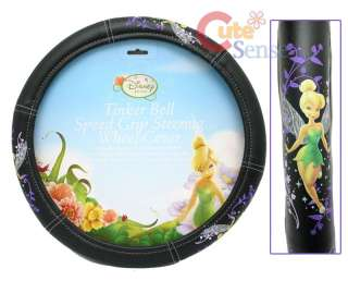 TinkerBell Car/Auto Steering Wheel Cover Violet Faires