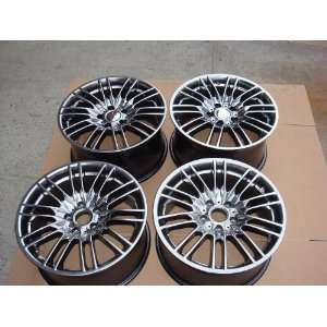 Bay Speed R8 Style 18 inch Staggered Alloy Wheels Automotive