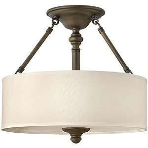 Flush Ceiling Light Fixtures. Sussex Flush Ceiling Light With Fabric