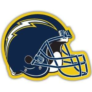 San Diego Chargers NFL Football bumper sticker 5 x 4