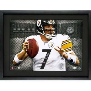 Ben Roethlisberger Pittsburgh Steelers Autographed White