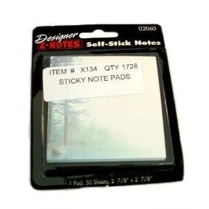 Stick on Note Pad Case Pack 108