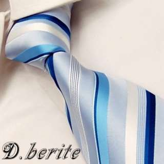 MEN NECK TIE NECKTIES HANKY CUFFLINK GIFT BOX SET TZ61
