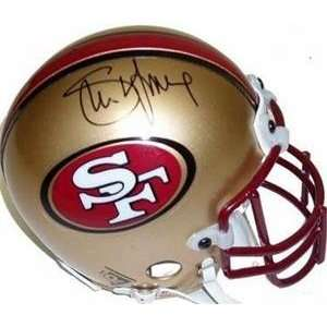 com Steve Young autographed Football Mini Helmet (San Franciso 49ers