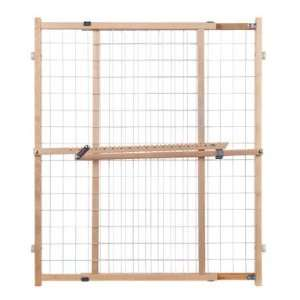 North States Industries 4618 Extra Wide Wire Mesh Gate 32