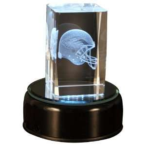 Philadelphia Eagles Helmet Cube with base