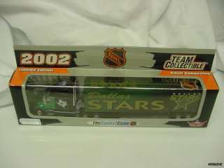 DALLAS STARS NHL 2002 TRACTOR TRAILER TRUCK NEW