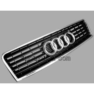 GENUINE AUDI A6 C5 CHROME FRONT BUMPER CENTER GRILLE NEW