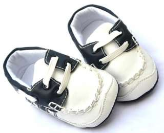 new White blue infant toddler baby boy shoes size 2 3 4