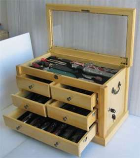 Knife Display Case Storage Cabinet,, Shadow Box Top