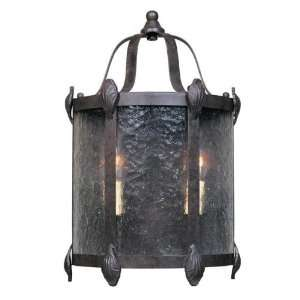 World Imports WI169789 Two Light Bronze Hanging Lantern